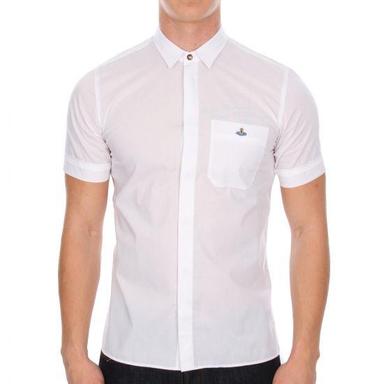 Short Sleeve Shirt - White 5135CP