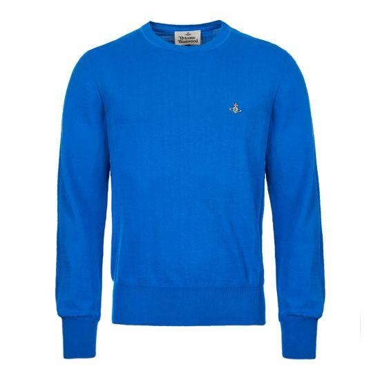 Vivienne Westwood Jumper S25HA0410 S16642 520 Blue