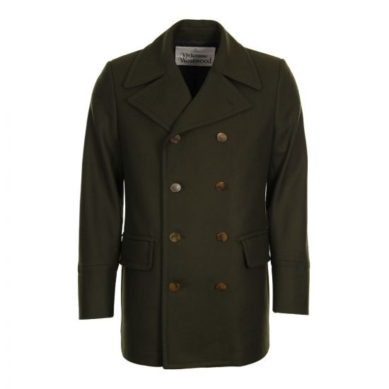 Vivienne Westwood Sports Jacket S25AM0239 S49281 In Olive