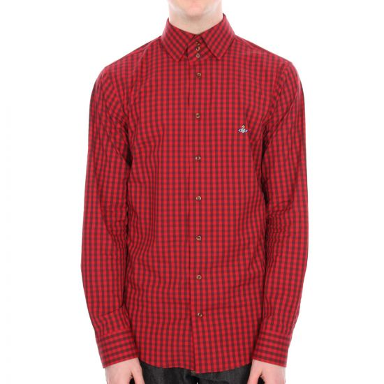 Vivienne Westwood Shirt Red Check