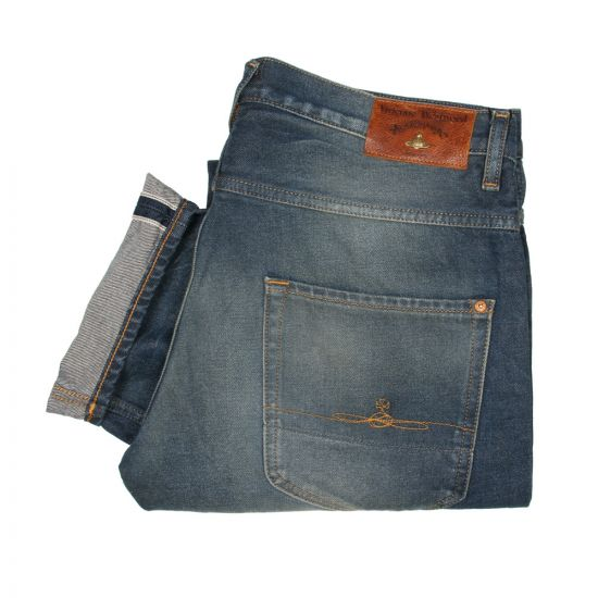 Vivienne Westwood Anglomania Classic Slim Fit Jeans Natural Indigo Slim Fit