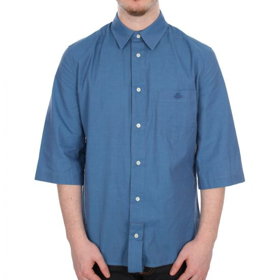 Vivienne Westwood Anglomania Shirt Paul in Blue