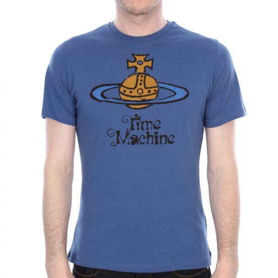 vivienne westwood t shirt blue time machine