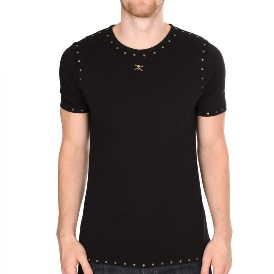 Westwood Riveted Studs T-Shirt - Black