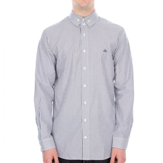 Vivienne Westwood Striped Shirt in Blue