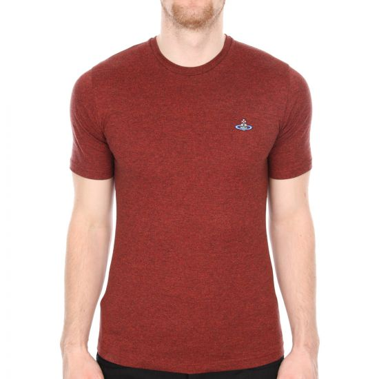 Vivienne Westwood T Shirt Red Small Logo