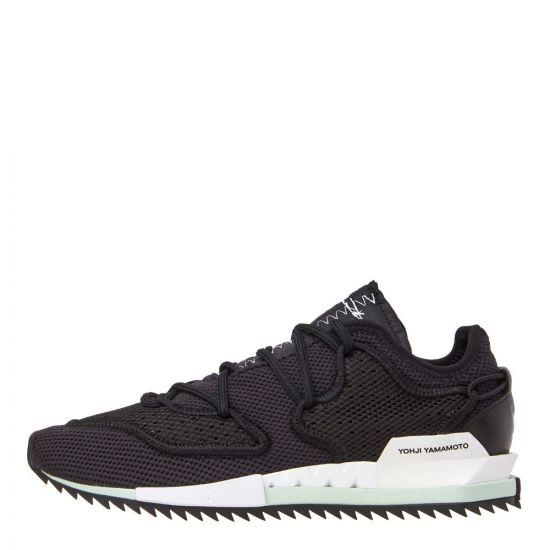 Y-3 Harigane II Sneakers F97426 Black/White