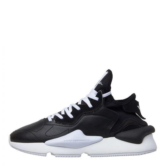 y3 kawai trainers F97415 black