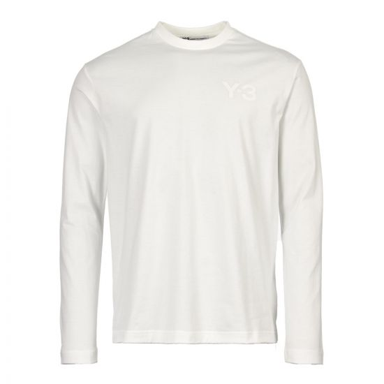 Y-3 Long Sleeve T-Shirt DY7294 in White