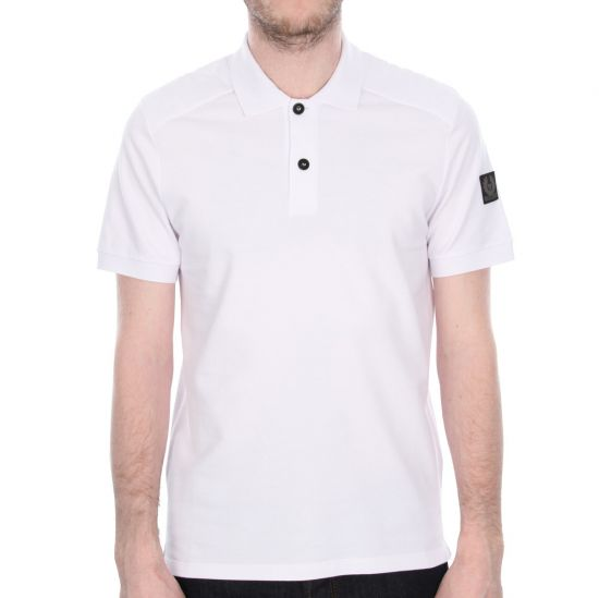 Belstaff Westley Polo Shirt - White