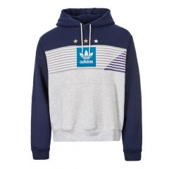 adidas Elevated 3 Hoodie EC7279 Grey / Navy