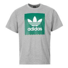 adidas T-Shirt | EC7365 Grey / Green