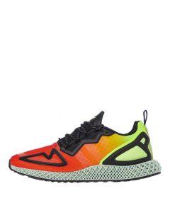adidas ZX 2K 4D Trainers   FV9028 Orange / Yellow / Black