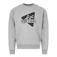 APC Sweatshirt Grey CODCZ H27536 LAB