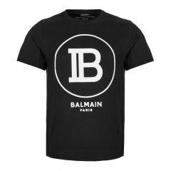 Balmain T-Shirt SH01135 |207 0PA in Black from Aphrodite