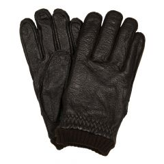 Barbour Barrow Leather Gloves MGL0061-BR91 Brown