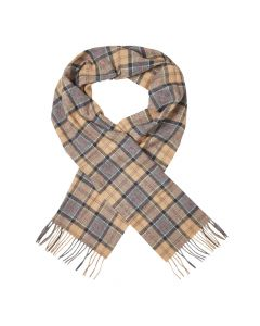 Barbour Scarf | USC0001 TN31 Dress Tartan Beige