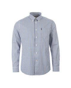 barbour gingham shirt MSH410 IN32 indigo