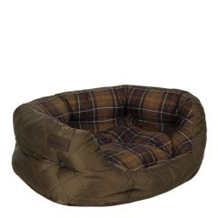 "Barbour Dog Bed 24"" Quilted in Olive UAC0103 OL72"