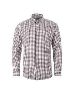 Barbour Shirt Gingham | MSH4610 RE94 Merlot