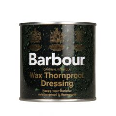 Barbour Wax Thornproof Dressing Green UAC0001 Clear