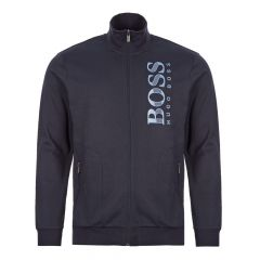 BOSS Bodywear Tracksuit Jacket | 50414671 403 Dark Navy