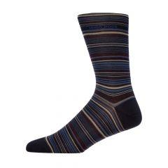 Boss Socks Multi Stripe 50414697|401 In Black At Aphrodite Clothing