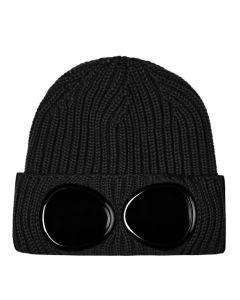 CP Company Goggle Beanie | MAC239A 005509A 999 Black
