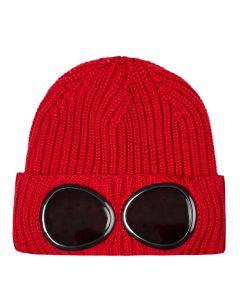 CP Company Goggle Beanie | MAC239A 005509A 562 Red