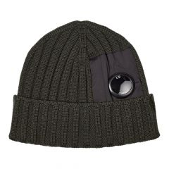 CP Company Knitted Hat MAC276A 005509A 999 Black