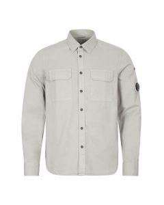 CP Company Shirt | MSH184A 002824G 900 Quiet Grey | Aphrodite