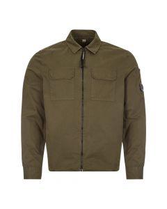 cp company overshirt MSH183A 002824G 683 ivy green