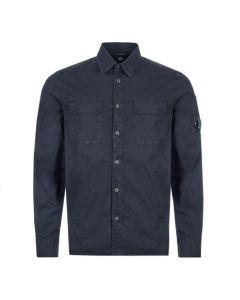 cp company shirt MSH165A 005383G 888 navy