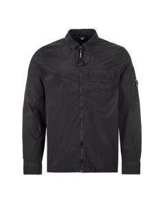 CP Company Shirt Zipped|MSH065A 005665G 999 Black|Aphrodite1994
