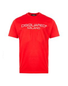 DSquared2 T-Shirt Milano | S74GD0644 S22844 307 Red