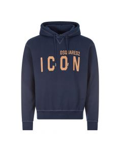 DSquared Icon Hoodie | S79GU0003 S25042 478 Navy
