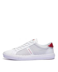 Moncler New Monaco Low Top Trainers | 4M714 40 02SSC 002 White | Aphrodite
