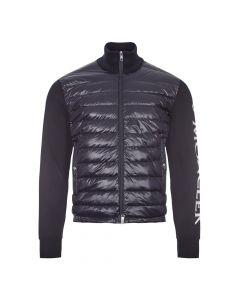 Moncler Padded Knitted Cardigan | 9B521 00 V9059 742 Navy