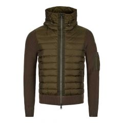 Moncler Knitted Cardigan | 94028 00 94789 831 Olive