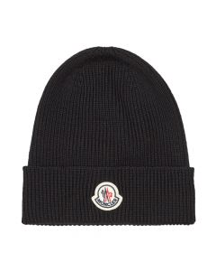 moncler beanie knitted 3B705 00 A9342 999 black
