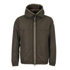 Moncler Nash Hooded Jacket 41941 05 54543 833 In Olive