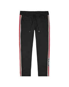 Moncler Sweatpants 8H702|00|V8104|999 In Black At Aphrodite Clothing