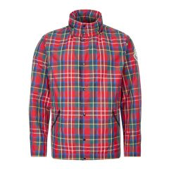 moncler jacket yser 1B721 10 C0508 45B red check
