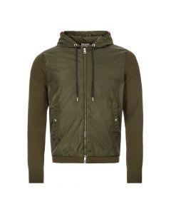 Moncler Zipped Cardigan | 9B701 00 V9115 833 Green