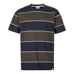 Norse Projects T-Shirt Johannes 3 Stripe N01 0467 8109 Green