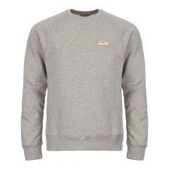 Nudie Jeans Samuel Logo Sweatshirt | 150380 GREY Grey Melange