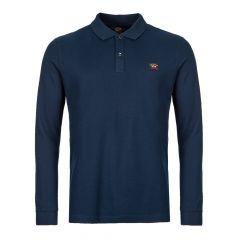 Paul & Shark Long Sleeve Polo Shirt | COP1001 013 Navy