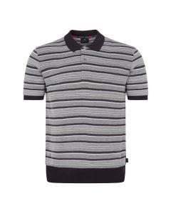 Paul Smith Polo Shirt Stripe Slate M2R 955T A20865 76