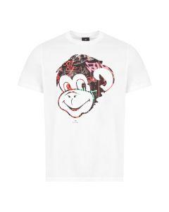 Paul Smith T-Shirt Monkey | M2R 011R AP1894 01 White