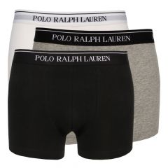Ralph Lauren 3 Pack Boxers in White Heather 251U3TRK BSHC2 A9933